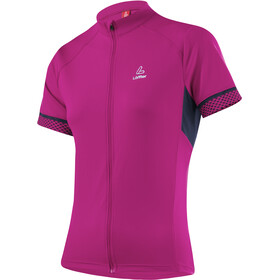 Löffler Pura Bike Shirt Full-Zip Damen berry